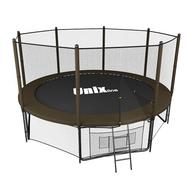 Батут для детей и взрослых UNIX LINE 10 FT BLACKBROWN OUTSIDE, фото 1
