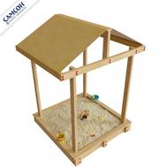 Детская песочница САМСОН ДЮНА с крышей без покрытия, фото 1