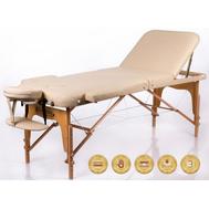 Стол для массажа складной RESTPRO Memory 3 Beige, фото 1