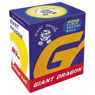 Мячи для настольного тенниса GIANT DRAGON 120 шт желтые/белые, фото 1