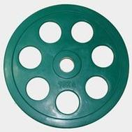 Олимпийский диск евро-классик с хватом Ромашка, 10 кг., фото 1