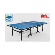 Всепогодный теннисный стол UnixLine Blue, фото 1