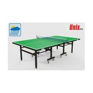 Всепогодный теннисный стол UnixLine Green, фото 1