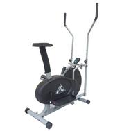 Эллиптический велотренажер (велоэллипсоид) DFC E2000S, ременной, фото 1