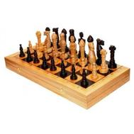 Шахматы Дубовые 65х33х8 см, фото 1