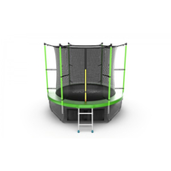 Батут EVO JUMP INTERNAL 8 FT GREEN + LOWER NET, фото 1