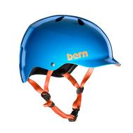 Шлем для водных видов спорта мужской Bern Watts H2O Azure Blue S19, фото 1