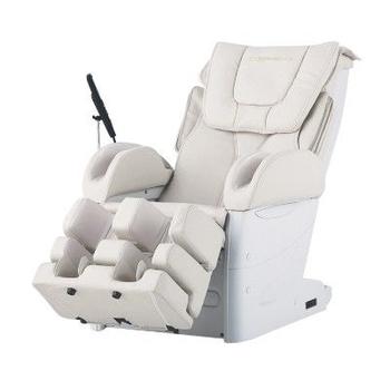 Массажное домашнее кресло FUJIIRYOKI EC-3800 бежевое/черное, фото 3