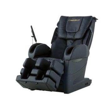Массажное домашнее кресло FUJIIRYOKI EC-3800 бежевое/черное, фото 4
